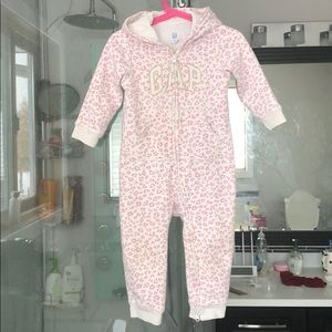 Gap toddler one pc jumpsuit sz 18-24m floral